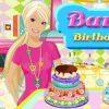 Barbie szülinapi tortája