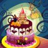 Halloween torta sütés