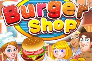 Hamburgeres kiszolgálós játék