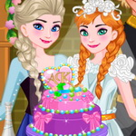 Ariel esküvői tortája