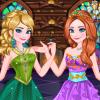 Anna és Elsa királynői design