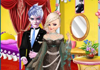 Elsa és Anna esküvői készülődése