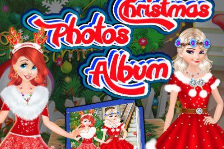 Hercegnők karácsonyi fotói