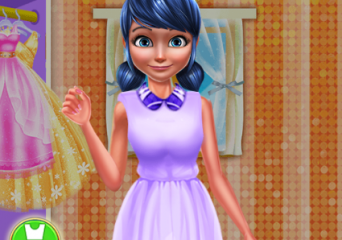 Katica lány pompom ruhája